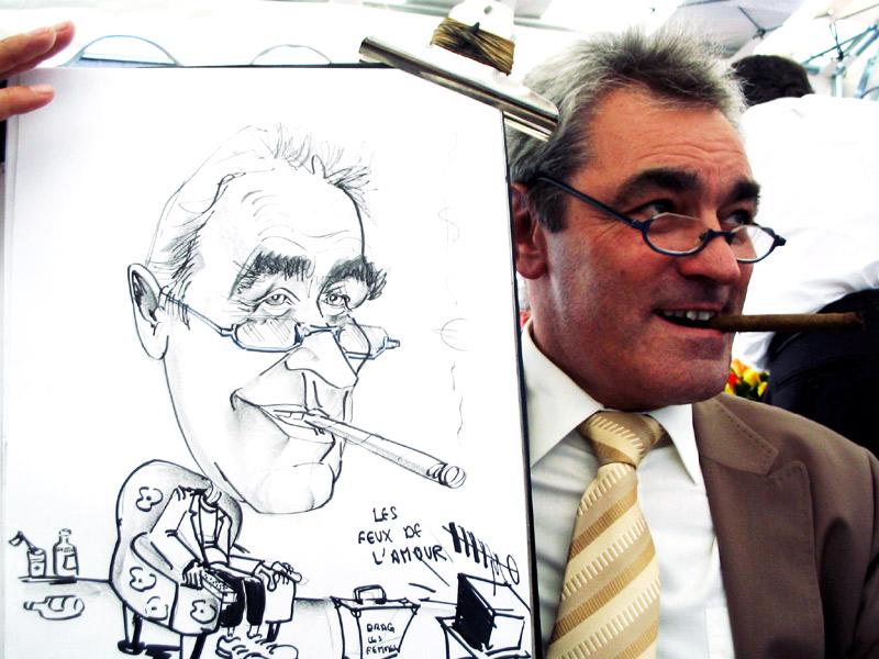 Caricature Homme caricature classique